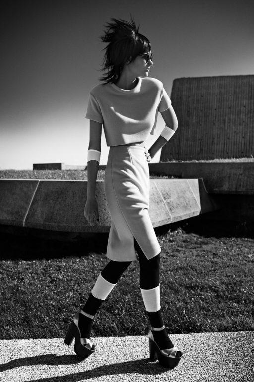 Fashion shoot in Montreal, Canada olympic staduim. Oryx Qatar Airways Nov 2013